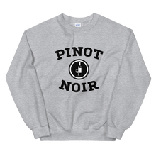 Load image into Gallery viewer, BuzzFeed Pinot Noir Collegiate Wine Day Sweatshirt