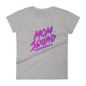 Mom In Progress 80s Mom Squad Women's T-Shirt