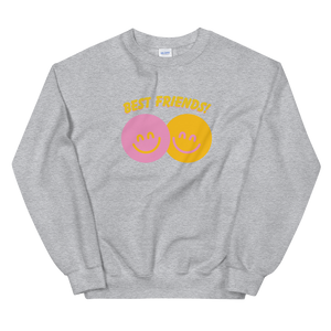 BuzzFeed Happy Faces Best Friend Day Sweatshirt