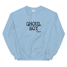 Load image into Gallery viewer, BuzzFeed Unsolved Ghoul Boy Sweatshirt