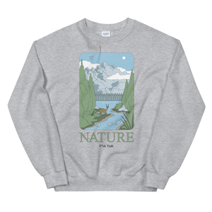 BuzzFeed Nature Earth Day Sweatshirt