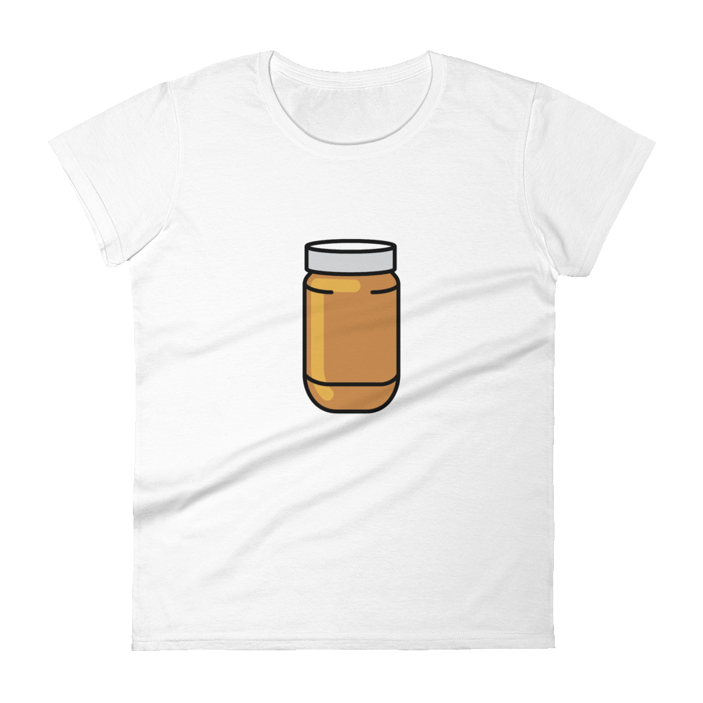 BuzzFeed Peanut Butter Jar Best Friend Day Women's T-Shirt