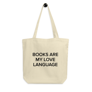BuzzFeed Love Language Book Day Tote Bag