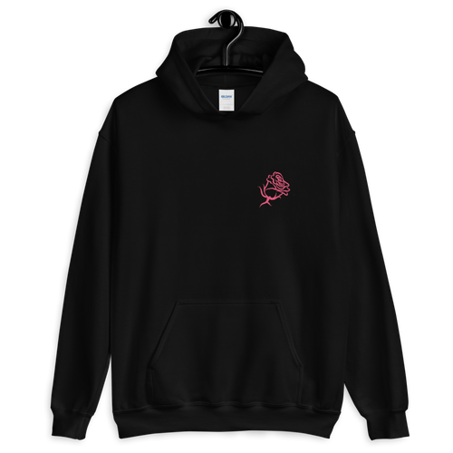 Kelsey Dangerous Dangerous At Any Speed Roses 2-Sided Hooded Sweatshirt
