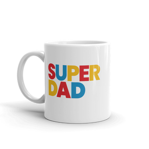 BuzzFeed Super Dad Father's Day Mug
