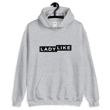 Load image into Gallery viewer, Ladylike Logo Unisex Hooded Sweatshirt