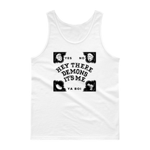 Load image into Gallery viewer, BuzzFeed Unsolved Hey There Demons Board Tank Top