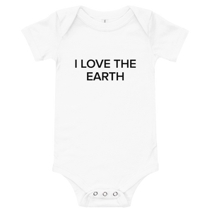 BuzzFeed I Love The Earth Earth Day Baby Onesie
