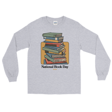 Load image into Gallery viewer, BuzzFeed Stack O' Books Book Day Long Sleeve T-Shirt