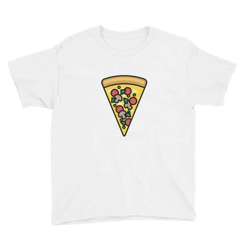 BuzzFeed Supreme Pizza Best Friend Day Youth T-Shirt