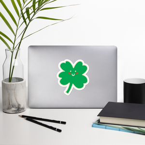 BuzzFeed St. Patrick's Day Four-Leaf Clover Sticker