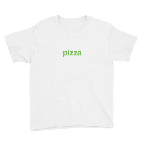 BuzzFeed Pizza Green Best Friend Day Youth T-Shirt