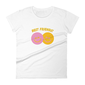 BuzzFeed Happy Faces Best Friend Day Women's T-Shirt