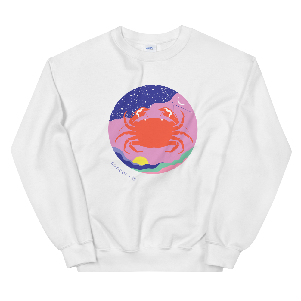 BuzzFeed Zodiac Cancer Design Sweatshirt