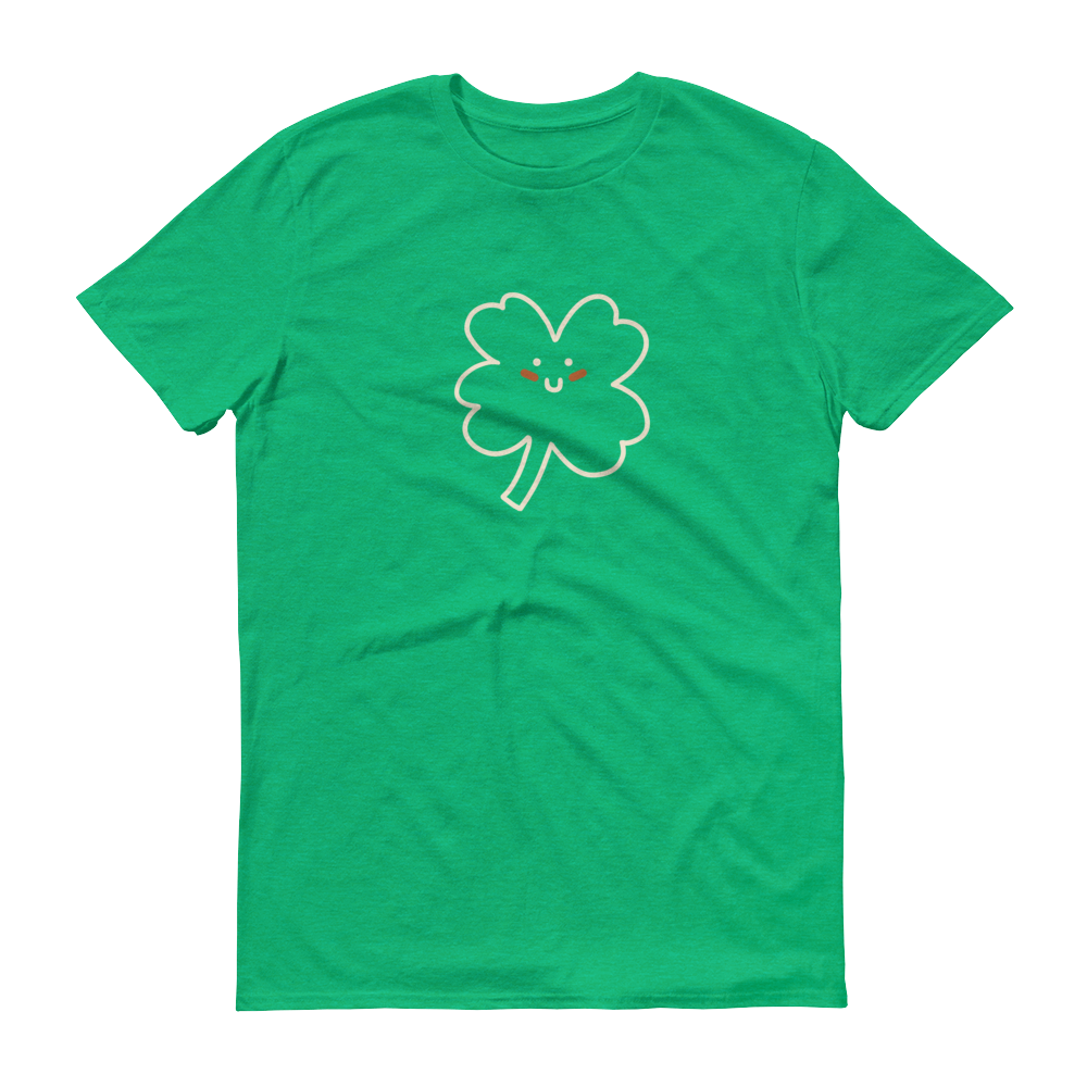 BuzzFeed St. Patrick's Day Four-Leaf Clover T-Shirt