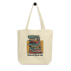 BuzzFeed Stack O' Books Book Day Tote Bag