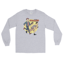 Load image into Gallery viewer, BuzzFeed Unsolved Saturday Morning Long Sleeve T-Shirt