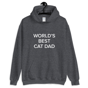 BuzzFeed Cat Dad Father's Day Hooded Sweatshirt