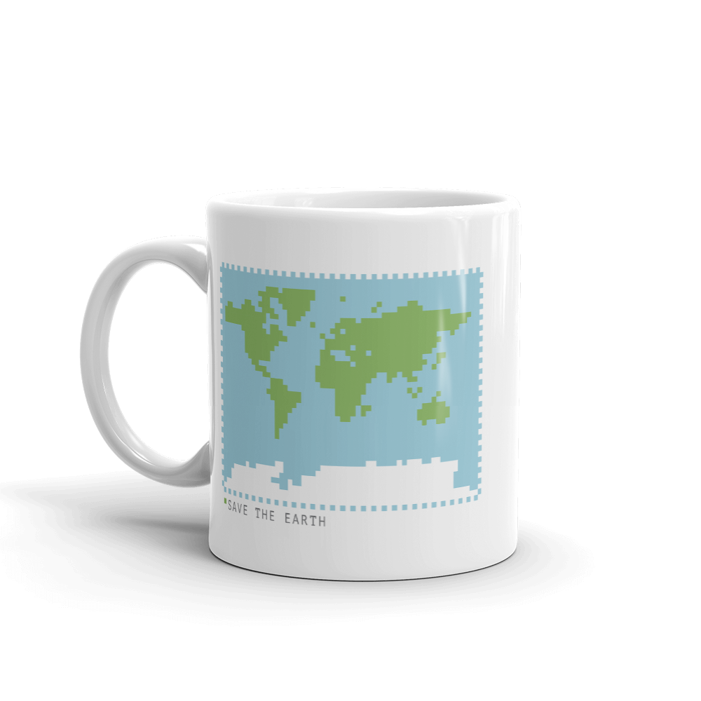 BuzzFeed Save The Earth Earth Day Mug