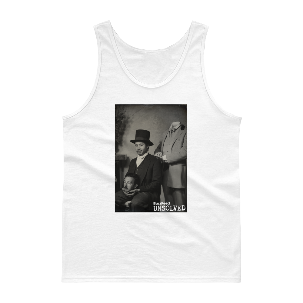 BuzzFeed Unsolved 100th Episode Tank Top