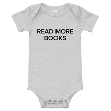 Load image into Gallery viewer, BuzzFeed Read More Books Book Day Baby Onesie