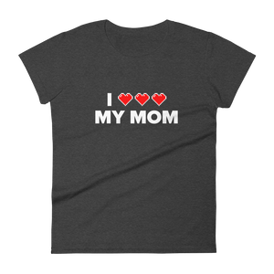 Multiplayer By BuzzFeed I Full Heart My Mom Women's T-Shirt