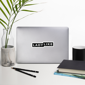 Ladylike Logo Stickers
