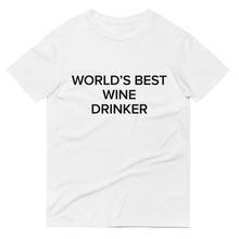 Load image into Gallery viewer, BuzzFeed Best Wine Drinker Wine Day T-Shirt