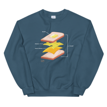 Load image into Gallery viewer, Tasty Grilled Cheese Feast Sweatshirt