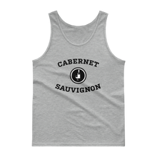 Load image into Gallery viewer, BuzzFeed Cabernet Sauvignon Collegiate Wine Day Tank Top