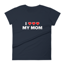 Load image into Gallery viewer, Multiplayer By BuzzFeed I Full Heart My Mom Women's T-Shirt