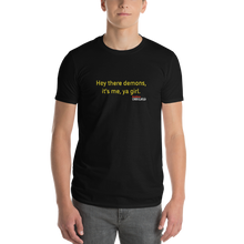 Load image into Gallery viewer, BuzzFeed Unsolved Hey There Demons Girl 2.0 T-Shirt