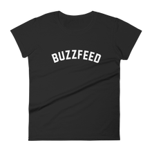 Load image into Gallery viewer, BuzzFeed Collegiate Logo Women's T-Shirt