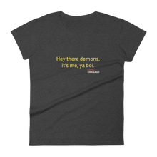 Load image into Gallery viewer, BuzzFeed Unsolved Hey There Demons Boi 2.0 Women's T-Shirt