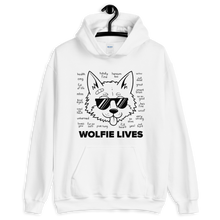 Load image into Gallery viewer, Multiplayer By BuzzFeed Wolfie Lives Hooded Sweatshirt