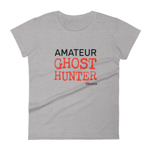 BuzzFeed Unsolved Amateur Ghost Hunter Women's T-Shirt