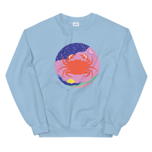 Load image into Gallery viewer, BuzzFeed Zodiac Cancer Design Sweatshirt