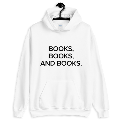BuzzFeed Books, Books Book Day Hooded Sweatshirt