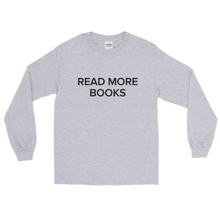 Load image into Gallery viewer, BuzzFeed Read More Books Book Day Long Sleeve T-Shirt