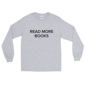 BuzzFeed Read More Books Book Day Long Sleeve T-Shirt