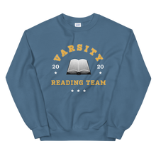 Load image into Gallery viewer, BuzzFeed Varsity Reading Team Book Day Sweatshirt
