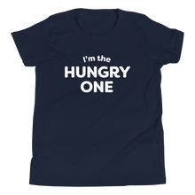 Load image into Gallery viewer, Mom In Progress Hungry One Youth T-Shirt