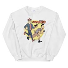 Load image into Gallery viewer, BuzzFeed Unsolved Saturday Morning Sweatshirt