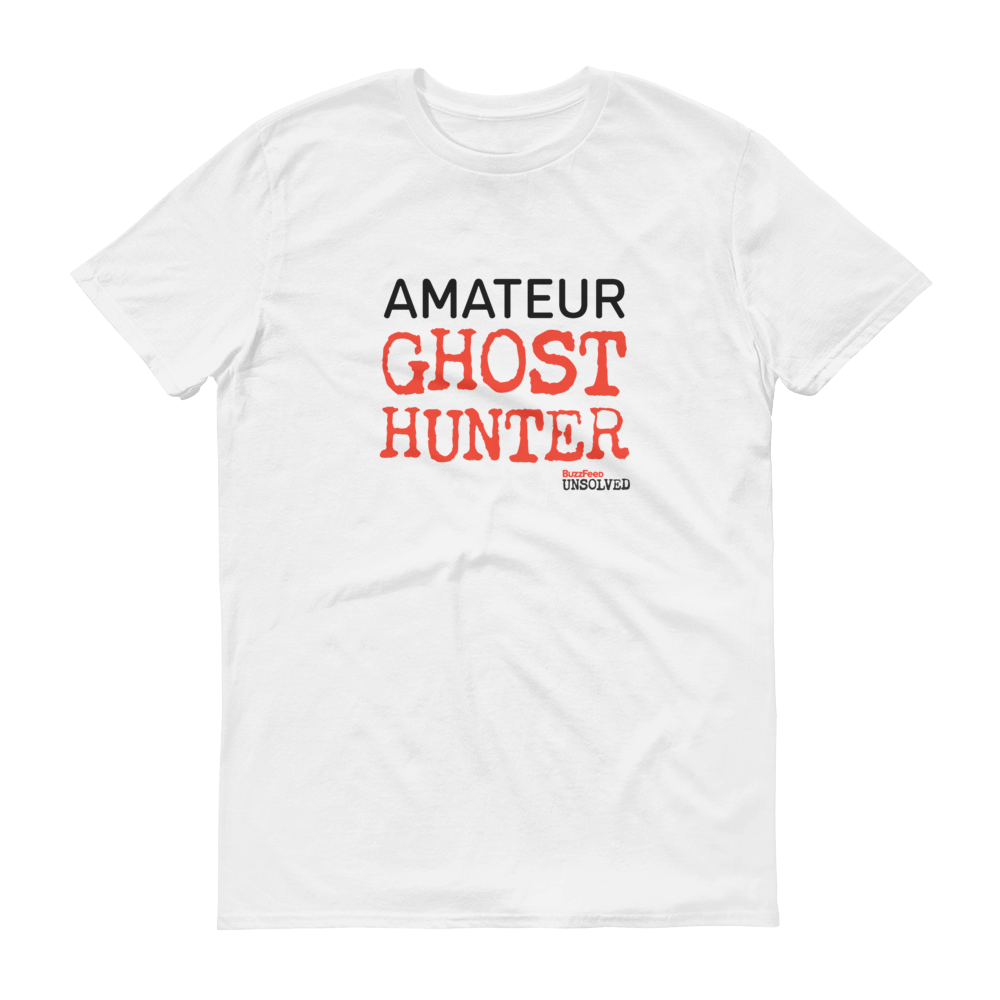 BuzzFeed Unsolved Amateur Ghost Hunter T-Shirt