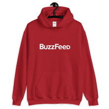 Load image into Gallery viewer, BuzzFeed Classic Logo Hooded Sweatshirt