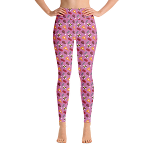 Tasty Thanksgiving Feast Yoga Leggings