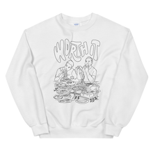 Load image into Gallery viewer, Worth It Taste Test Crew Sweatshirt