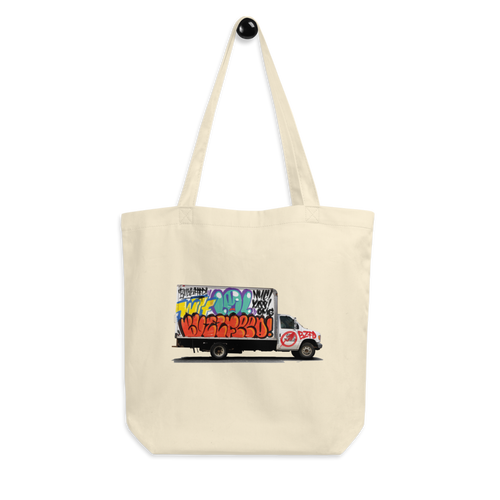 BuzzFeed LOL Graffiti Truck Tote Bag