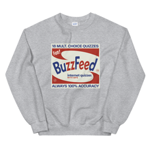 Load image into Gallery viewer, BuzzFeed Internet Quizzes Sweatshirt