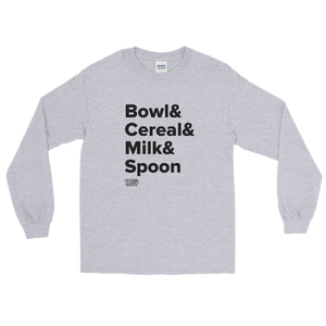 Tasty Cereal Recipe Long Sleeve T-Shirt